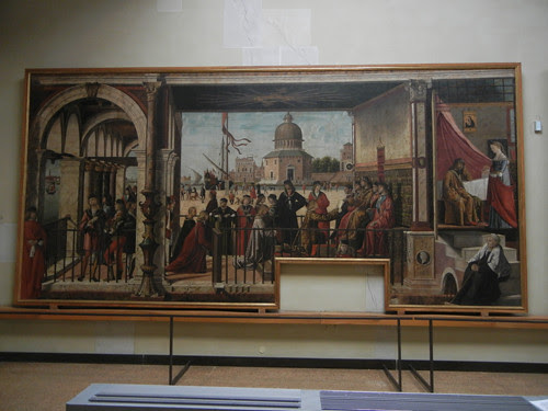 DSCN2694 _ Arrival of the Ambassadors,  Legend of S. Ursula, Vittore Carpaccio, 1497-98,  Accademia