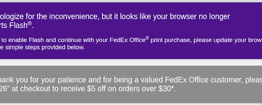 FedEx Will Pay You $5 to Install Flash on Your Machine | FOSS Force
