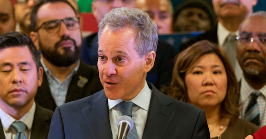 A Look Back at Eric Schneiderman's Rise, and Abrupt Fall - The New York Times