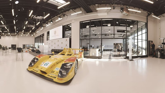 Visiting the Porsche Experience Center in Los Angeles | AutoblogVR