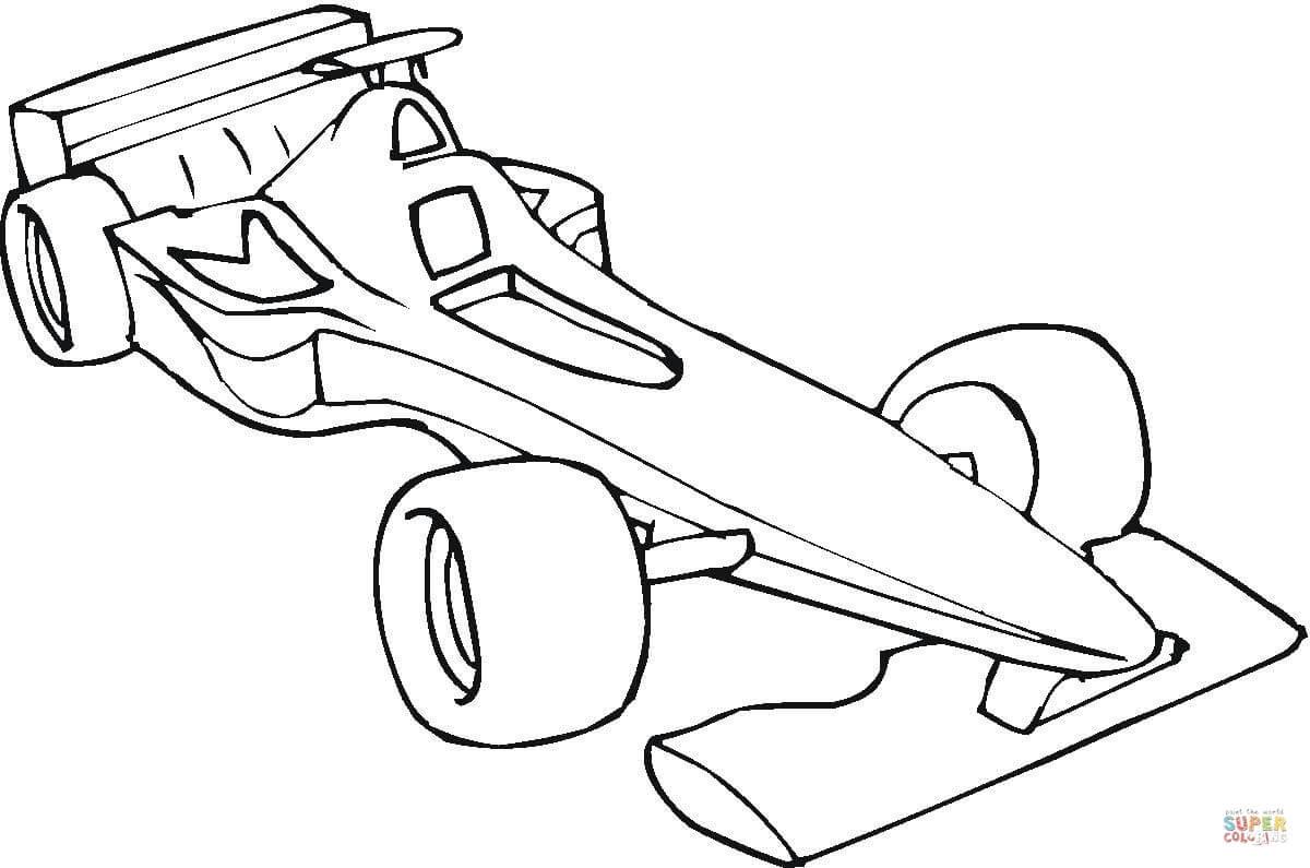 er sur la Voiture de Formule 1 coloriages pour visualiser la version imprimable ou colorier en ligne patible avec les tablettes iPad et Android