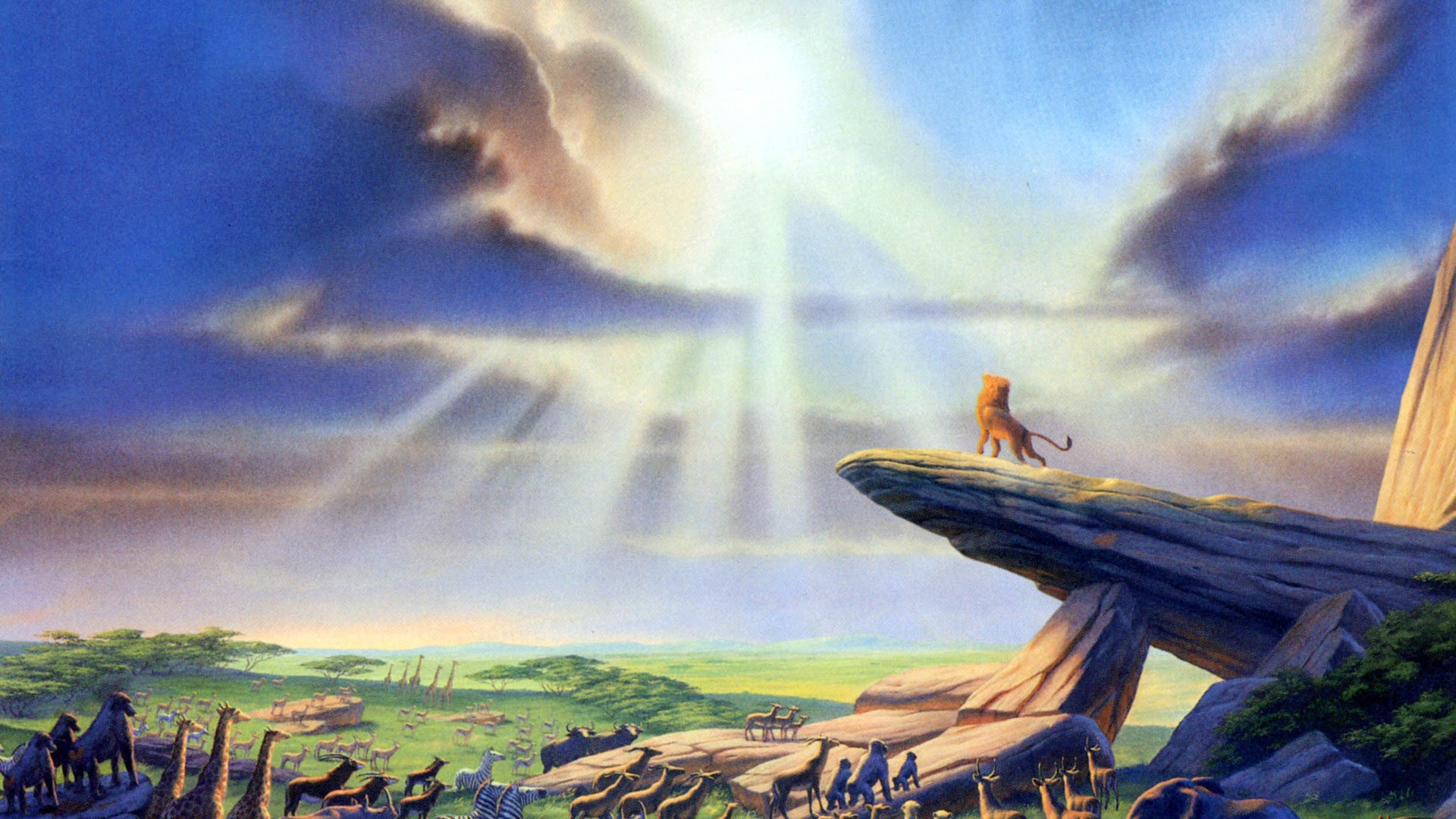 Lion King Desktop Wallpaper