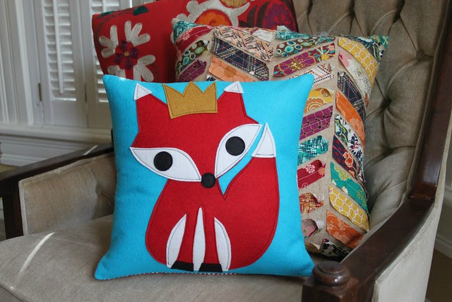 King Fox Pillow