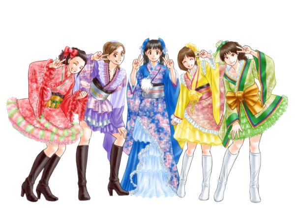 メイキングlast Aice5 Dvd感想イラスト着物風衣装編その8 Nd