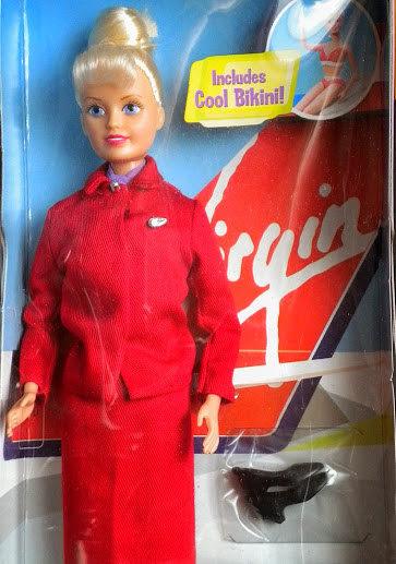 Virgin Atlantic Sindy Doll