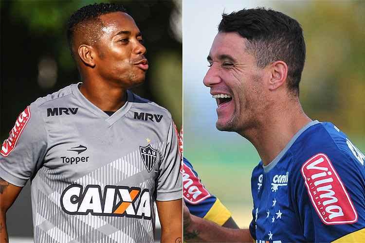 Bruno Cantini/Atlético e Alexandre Guzanshe/EM/D.A. Press