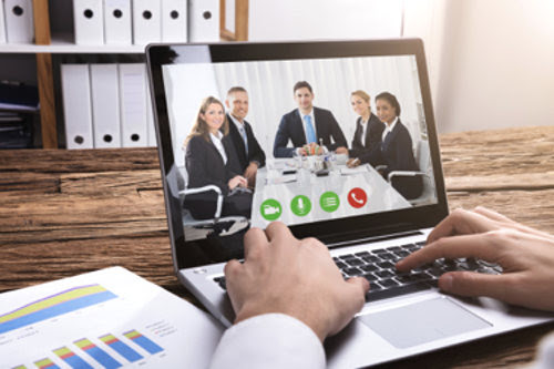 Video conferencing benefits companies