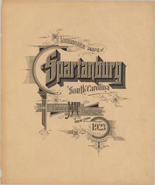 Spartanburg, South Carolina 1923