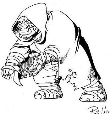 Original Sketch from Heavy Metal