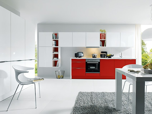 Add a splash of colour to your kitchen