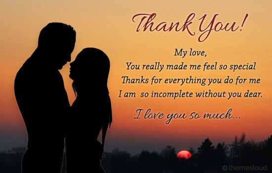 Thank You For Everything You Do For Me Free For Your Love Ecards