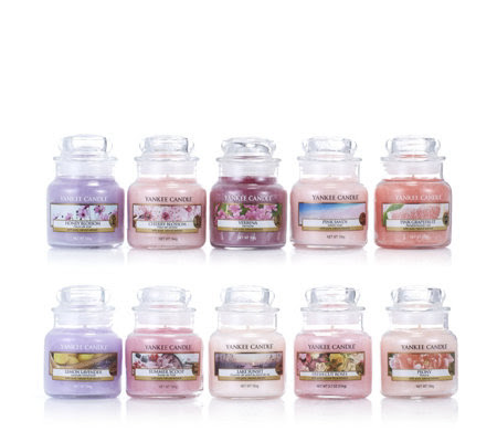 Yankee Candle 10 Piece Pink & Lilac Mixology Small Jar ...