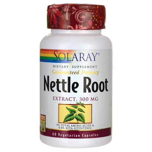 Solaray Nettle Root Extract Capsules, 300 mg - 60 count