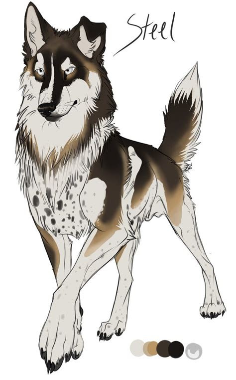 anime wolves images  pinterest anime animals