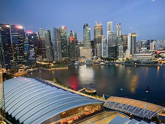 Marina Bay Sands Singapore Executive Room City View