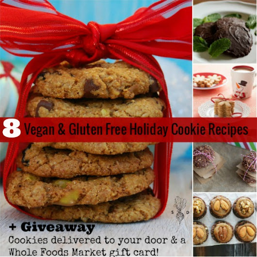 8 Vegan Holiday Cookie Recipes + a Cookie Giveaway! - The Seasonal Diet