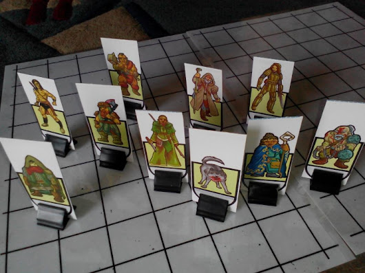 Support Khairul Hisham creating Tabletop RPG Paperminis