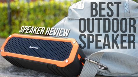 BEST OUTDOOR BLUETOOTH SPEAKER ? (Sound Test   Review