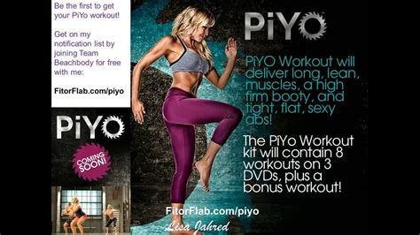 piyo workout update beachbody  chalene johnson youtube