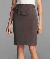 Antonio Melani Lucille Peplum Pencil Skirt