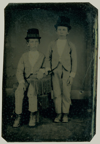 Tintype two boys