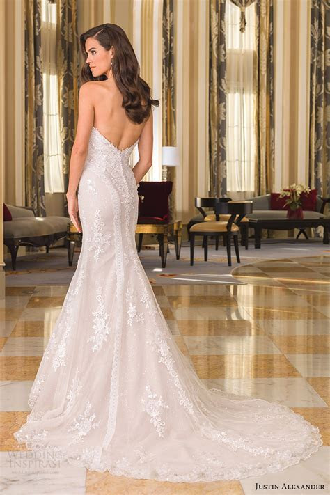 Justin Alexander Fall 2016 Wedding Dresses   Wedding Inspirasi