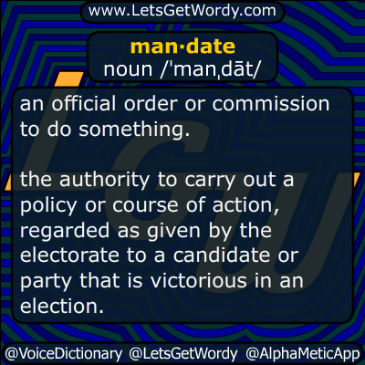 mandate 12/21/2017 GFX Definition