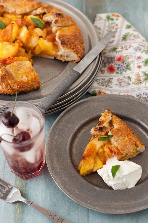 Peach Crostata 4