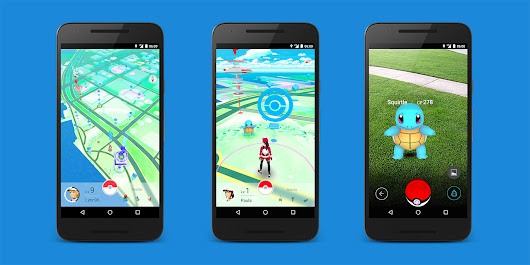 Pokémon Go AR game arrives on Android and iOS next month