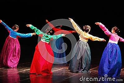 Performance Of Busan Korean Traditional Dance Editorial Stock Photo  Image: 32646953