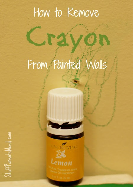How to Remove Crayon from Painted Walls - Stuff Parents Need