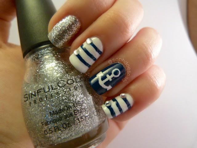 navy-nautical-nail-design-bmodish