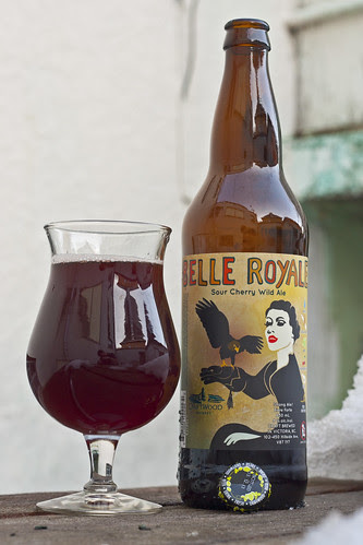 Review: Driftwood Belle Royale Sour Cherry Wild Ale by Cody La Bière