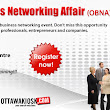 The Ottawa Business Networking Affair- January Edition 2013