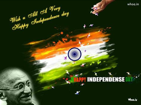 happy independence day  quotes  mahatma gandhi hd