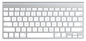 teclado sem fio da Apple