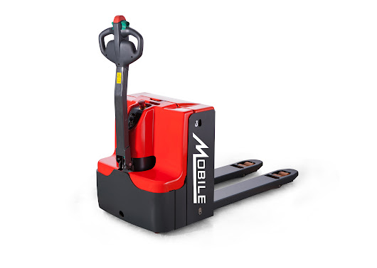 Walkie & Rider Electric Pallet Jack Material Handling Equipment Selections - MOBILE INDUSTRIES INC. :: Material Handling Tranport, Lift and Warehouse Equipment.