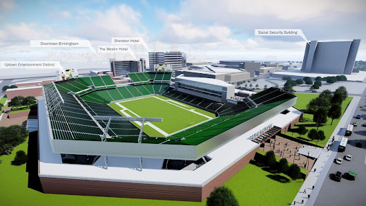 BJCC's updated master plan includes stadium, major Legacy Arena expansion - Birmingham Business Journal