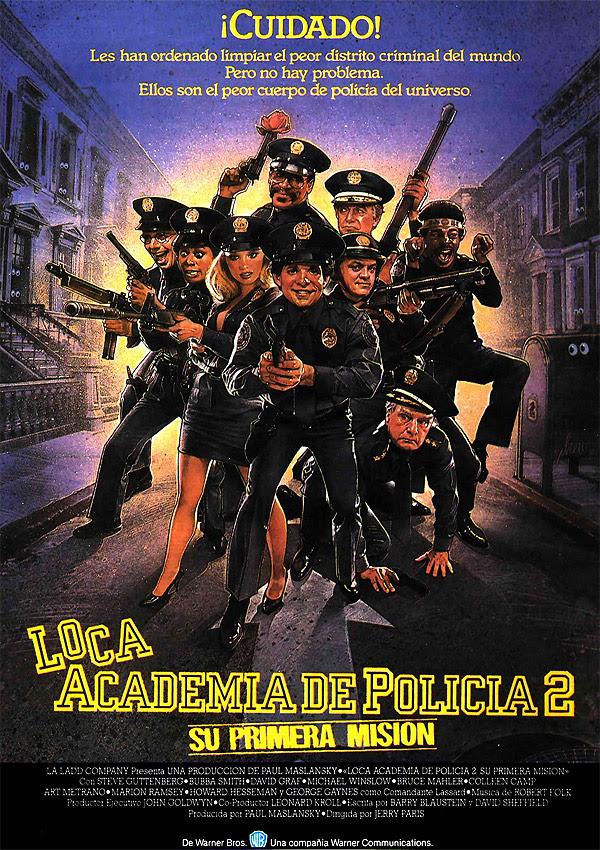 póster de la película loca academia de policía