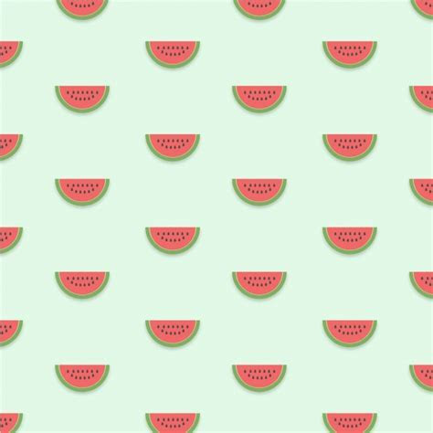 Watermelon pattern background Vector   Free Download
