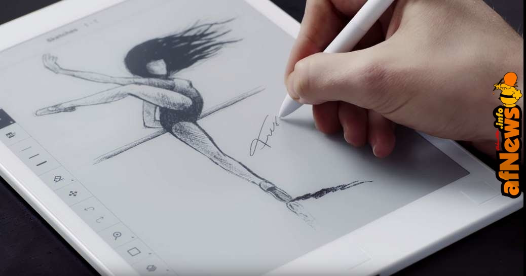 Disegnare su un lettore ebook con reMarkable