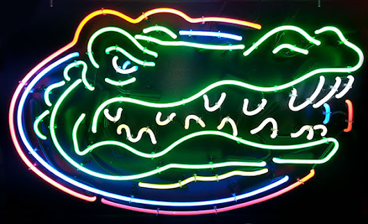 University of Florida Gators Neon Sign