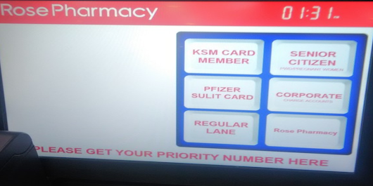 A UX Case Study: Rose Pharmacy Customer Queue Management System