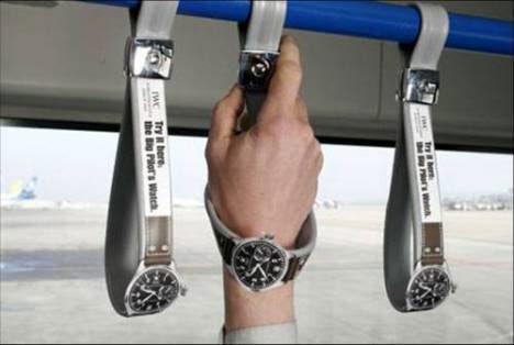 presence marketing watch bus ad