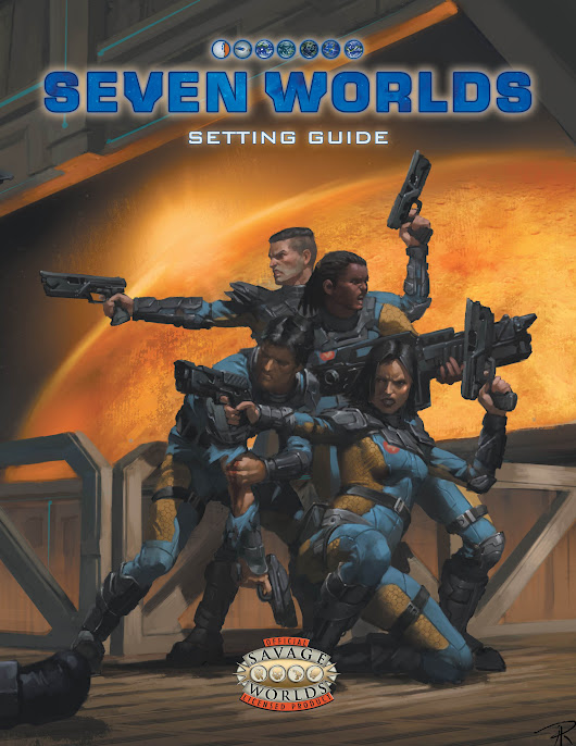 Announcing Seven Worlds, a science-fiction RPG unlike any you've ever seen!
