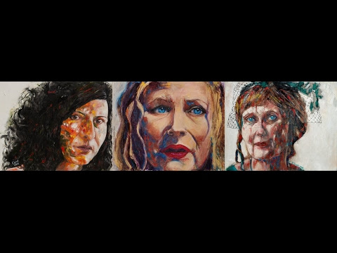 The Process: Close Up Portraits of Three Women