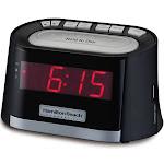 Hamilton Beach HCR410 Alarm Clock Radio w/ USB Charging Port - AM/FM, 120v
