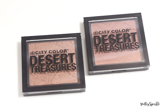 City Color Desert Treasures Bronzer Powder in Oasis & Sand Storm | Review & Swatches