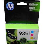 HP 935 Combo Pack Ink Cartridge, Cyan/Yellow/Magenta - 3-pack