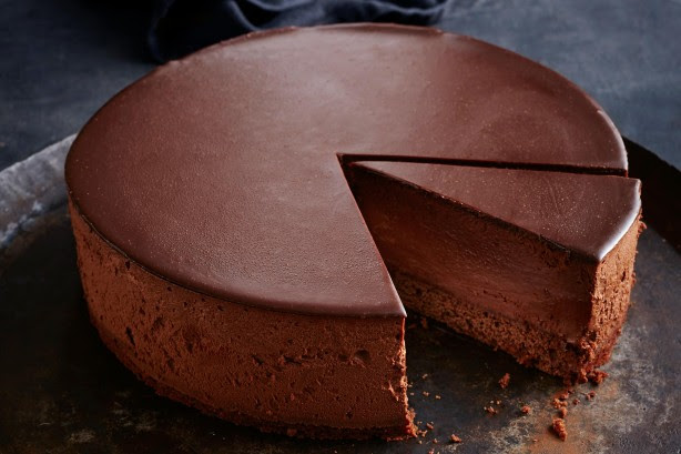Dark Chocolate Mousse Cake Recipe - Taste.com.au